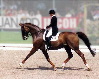 Gelmiş Geçmiş En İyi 10 Dresaj Atı ile Binicisi 7