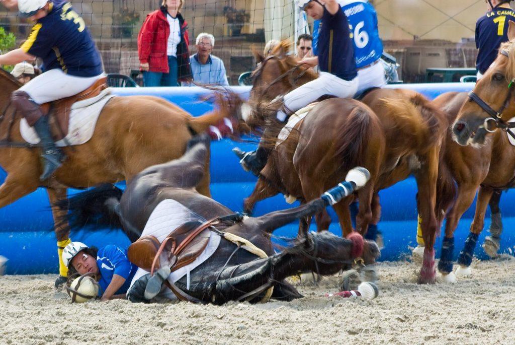 atlı spor horseball