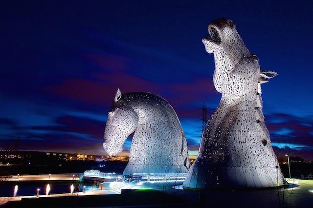 at kafası heykeli resimleri