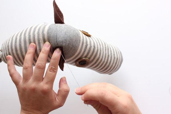 oyuncak at kafası