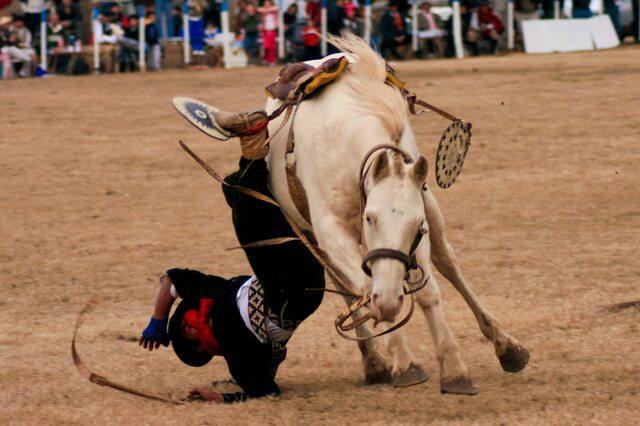 Komik At Kazaları - Attan Düşenler 16